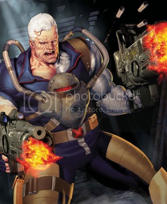 Cable e Bishop: A batalha final?