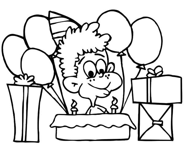 Happy Birthday Boy Coloring Pages: Happy Birthday Boy ...