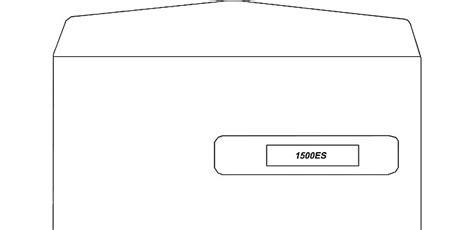 es gum seal window claim form envelope