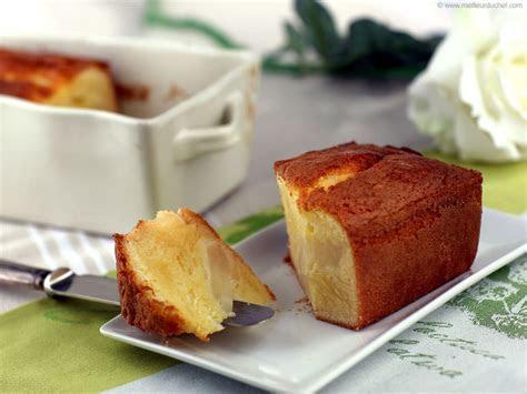 Gâteau moelleux aux poires   Fiche recette illustrée