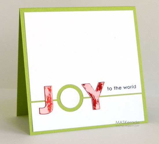 MASKerade: CTS25 - Joy to the World