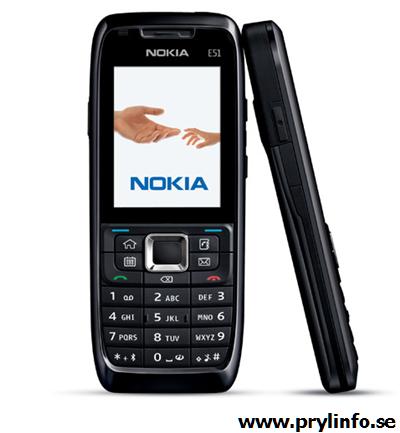 nokia e51 mobiltelefon 3