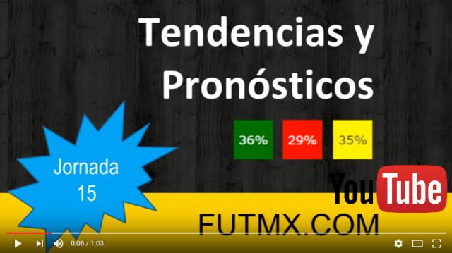 Video tendencias jornada 15