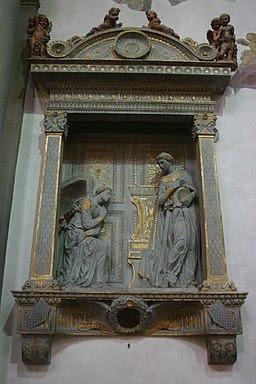 Annunciazione cavalcanti, santa croce