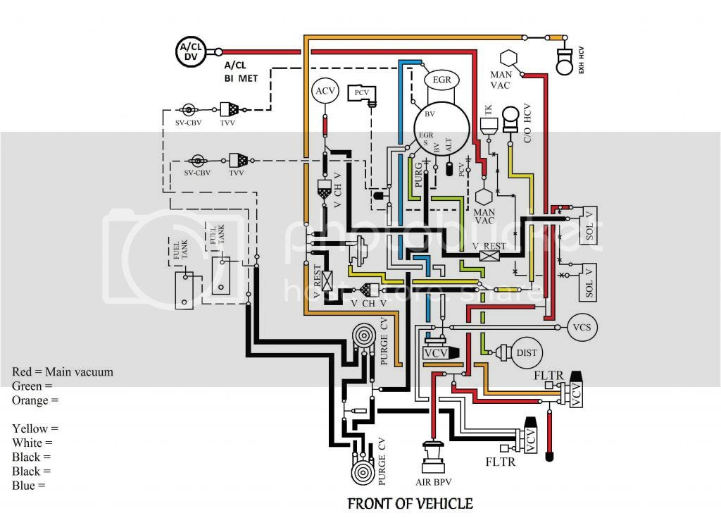 Vacuum Line Diagram Ford Truck Club Forum