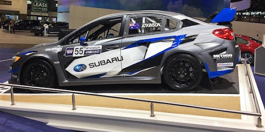New #55 WRX STI Supercar Debuts in Chicago; Subaru Will Fly in All 12 GRC Rounds - Torque News