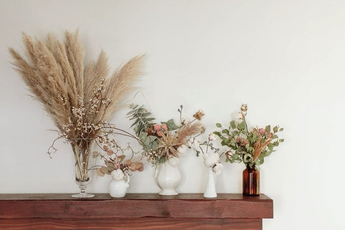 3 Ways To Decorate With Dried Flowers Glitter Guide