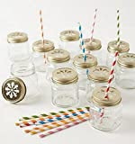 canning jar straw holder lid