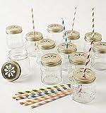 canning jar straw holder lid