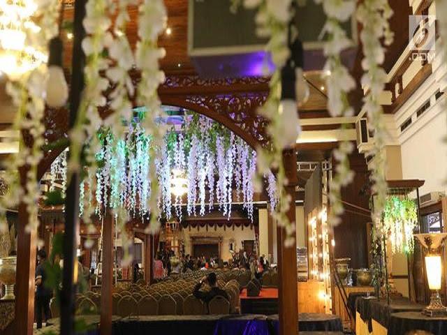 dekorasi tradisional unik kahiyang bobby