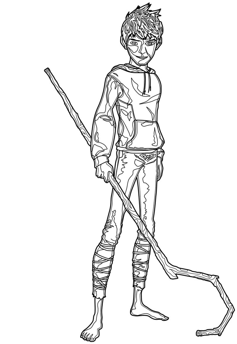 Jack Frost Coloring Pages