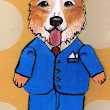 Unique One of a Kind Corgi Dog Paper Doll