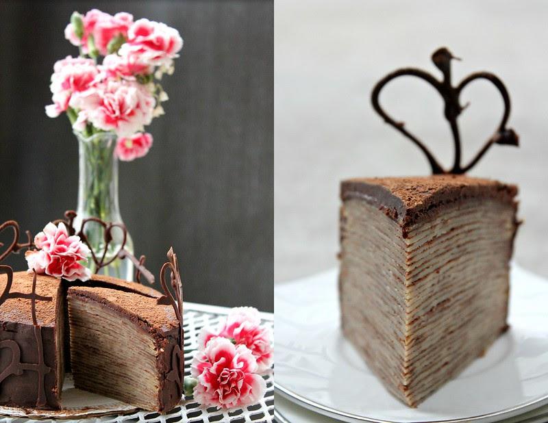 30 layered Crepe Cake