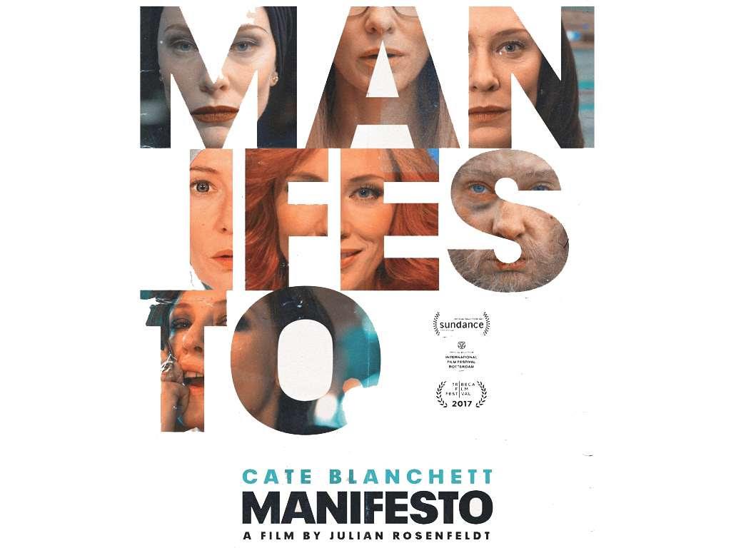 Μανιφέστο (Manifesto) Poster Πόστερ