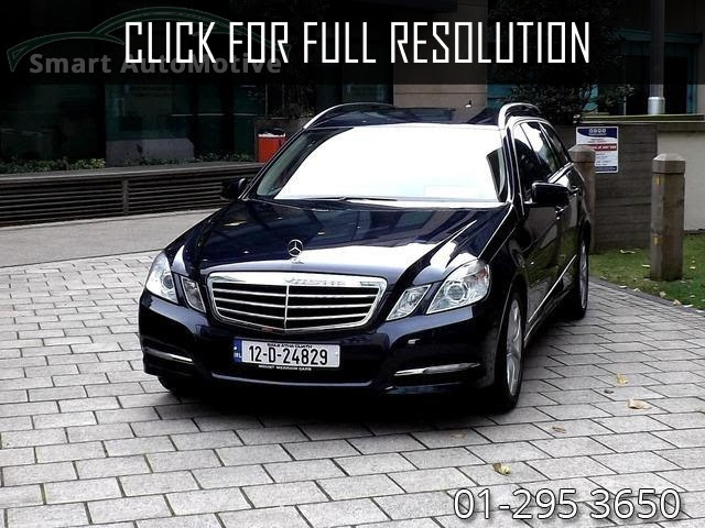 Mercedes Benz E Class 7 Seater - amazing photo gallery ...