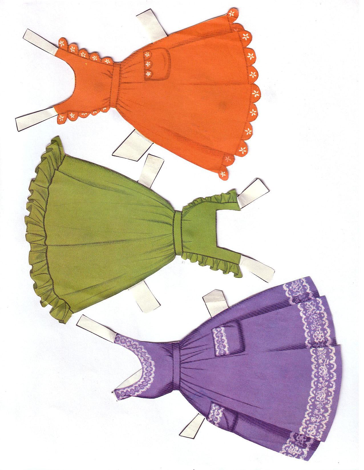 Hayley Mills - Summer Magic paper doll set (1963) 009