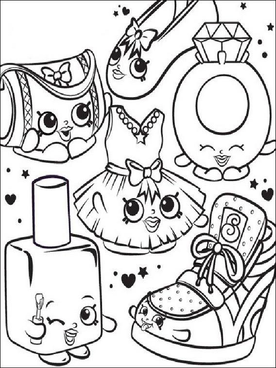 Dibujos Para Imprimir De Shopkins