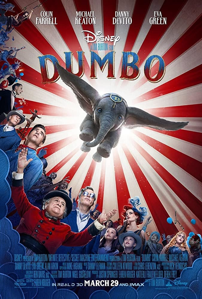 Dumbo (2019) Hindi 5.1 Dolby Digital (Dual Audio) | 1080p 720p 480p BRRip Free Download , Movie