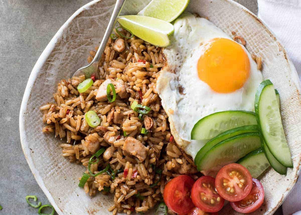 Nasi Goreng (Indonesian Fried Rice)  RecipeTin Eats