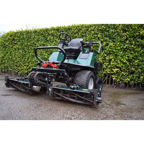 "Used 2011 Hayter LT324 4WD 83"" 4 Blade Cylinder Mower For Sale"