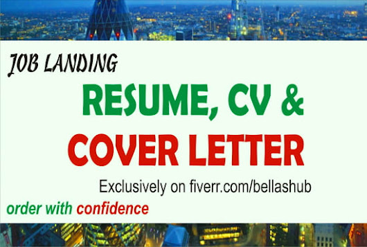 bellashub : I will write, rewrite, or edit design resume, cv, and linkedin for $5 on www.fiverr.com