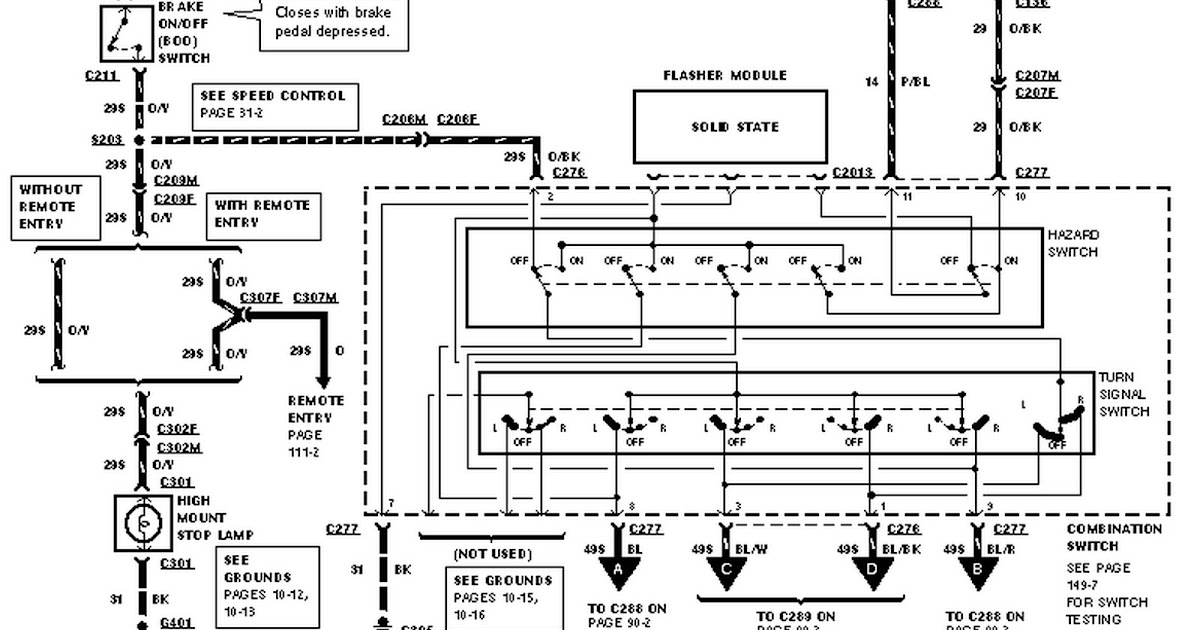 Ford Contour Wiring Diagram