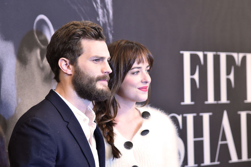 Jamie Dornan Pretends to Put His Penis Into Dakota Johnson in Sepia