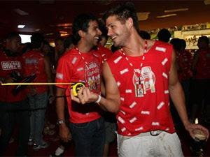 Dado Dolabella quase encontrou Luana Piovani no carnaval de 2009 (Foto: Berg Silva / Agência O Globo)