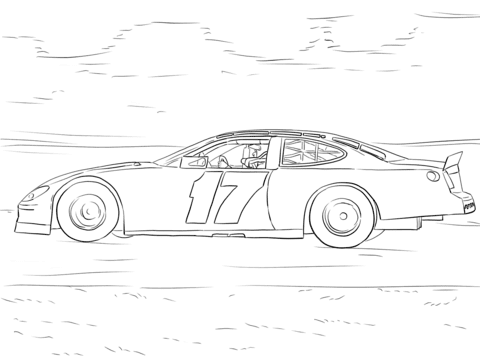 8800 Nascar Cars Coloring Pages Images & Pictures In HD