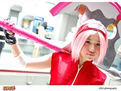 Naruto Sakura Cosplay
