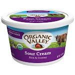 Organic Valley Organic Sour Cream, 16 Ounce - 6 per case