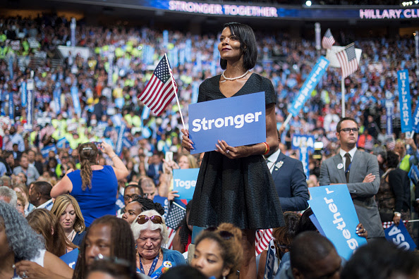 Image result for Sharron Cooks DNC convention
