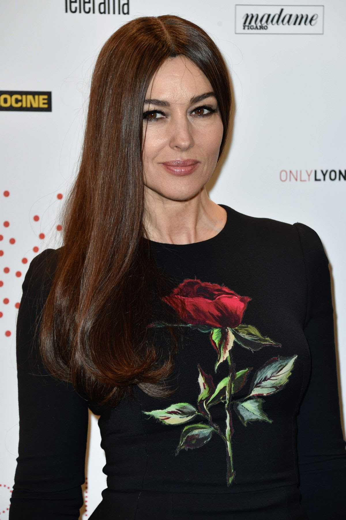 MONICA BELLUCI at Le Cinema Invente Exhibition Preview In Paris