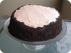 Ovarian Chocolate Cake