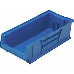 Quantum Storage Systems Hopper Bin, Blue, 7 inH x 23 7/8 inL x 11 inW, 1EA QUS952BL