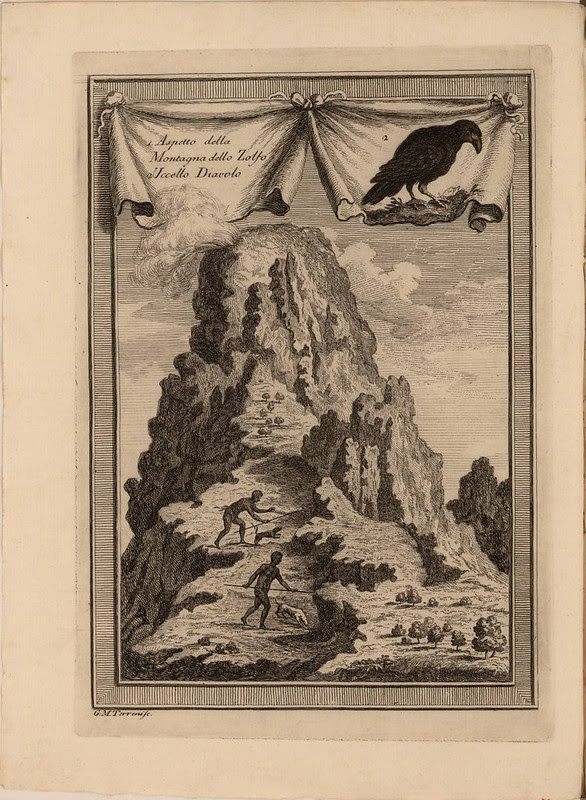 1. Aspetto della Montagna dello Zolfo 2 Uccello Diavolo