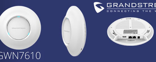 Grandstream GWN7610 WiFi Access Point | Grandstream Dubai