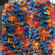 Bright, Colorful, Warm, and Fashionable Fun Fur Knitted Scarf