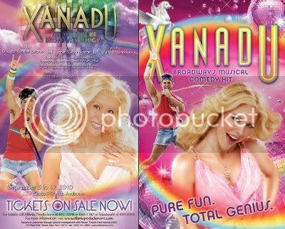 Xanadu Poster Comparison