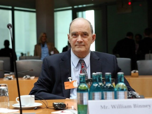 William Binney, former intelligence official of the U.S. National Security Agency (NSA) turned whistleblower, arrives to testify at the Bundestag commission investigating the role of the U.S. National Security Agency (NSA) in Germany on July 3, 2014 in Berlin, Germany. The commission convened following revelations last year that the NSA had for years eavesdropped on the mobile phone of German Chancellor Angela Merkel and other leading German and European politicians. Recent documents released by former NSA employee Edward Snowden show strong activity by the NSA in Germany as well as cooperation between the NSA and the German intelligence service. (Photo by Adam Berry/Getty Images)