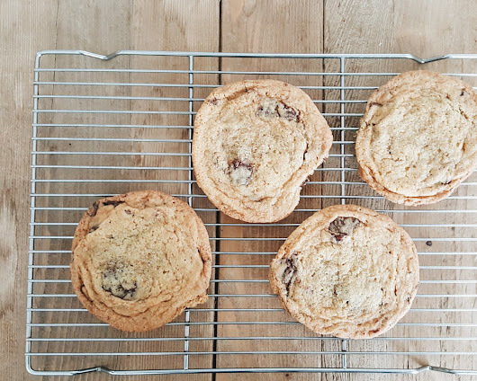 """Baking With My Daughter"" by Joseph Robert Mills + Sarah's Chocolate Chip Cookies"