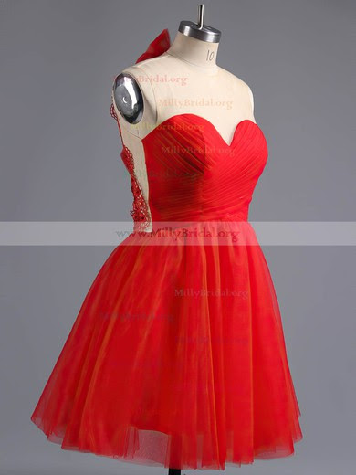 Risultati immagini per a-line-scoop-neck-tulle-short-mini-beading-homecoming-dresses-milly02016973-11244