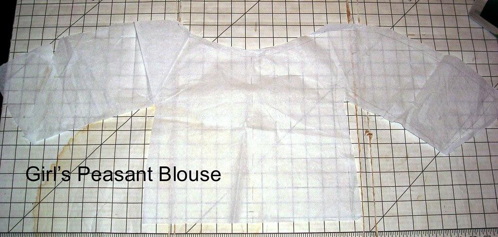 Peasant Blouse Pattern