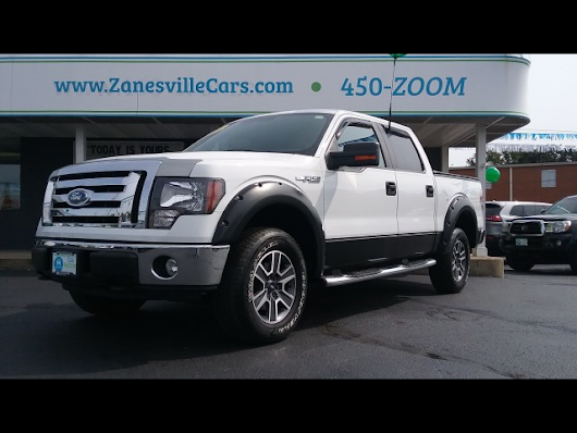 2009 Ford F-150 XLT SuperCrew 6.5-ft. Bed 4WD for sale at Car Nation | Used Cars Zanesville