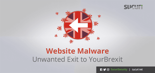 Website Malware: Unwanted Exit to YourBrexit