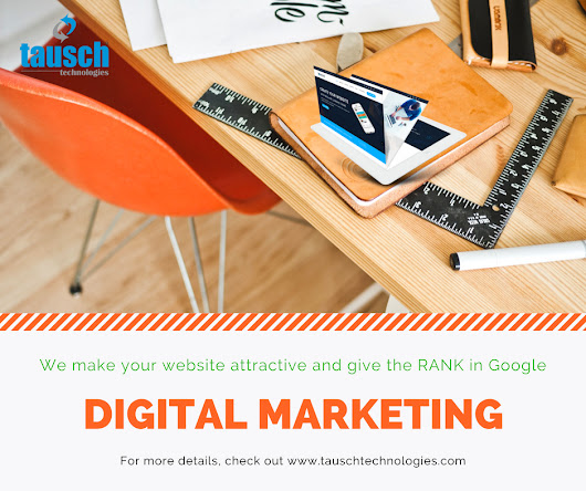 Get the Best Digital Marketing Services in Hyderabad | Company | Agency | Tausch