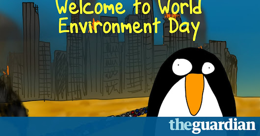 Brenda the Civil Disobedience Penguin on World Environment Day | First Dog on the Moon | Opinion | The Guardian