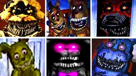 five nights at freddys 4 all animatronics fnaf 4 official trailer
