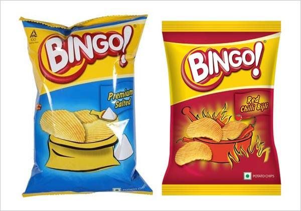 Bingo Chips Packaging Design 30+ Crispy Potato Chips Packaging Design Ideas