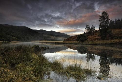 First light in the Glen by Fraser Ross
